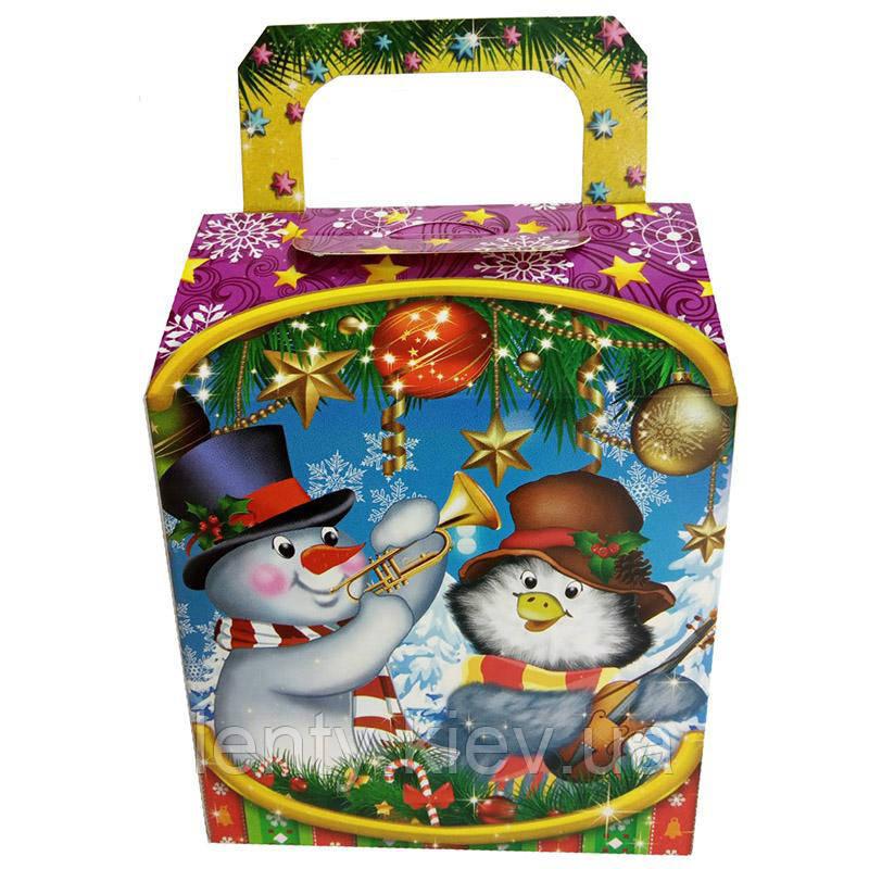 Новорічна Коробочка для солодощів СВФ_002961