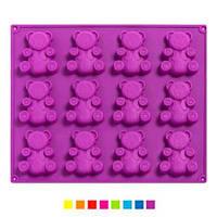 Форма для випікання силіконова для печива 20шт/листі 30*29,8*2см, XY-C1134