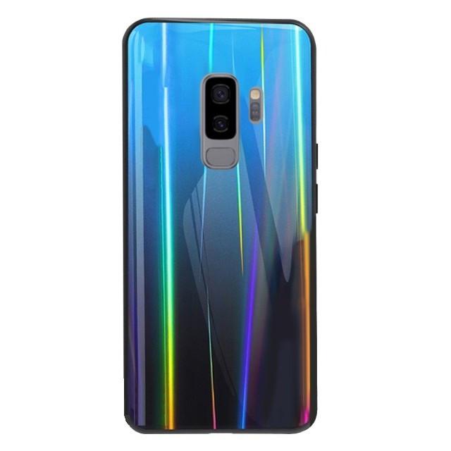 Силиконовая Пленка Цветная Зад Samsung S9 Plus