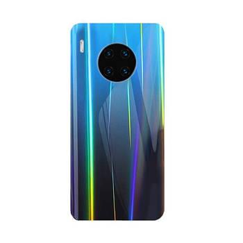 Силиконовая Пленка Цветная Зад Huawei Mate 30