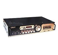 Усилитель звука UKC AV-121BT Bluetooth, USB