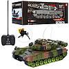 Игрушечный танк на радиоуправлении 13А, звук, свет, 2 цвета