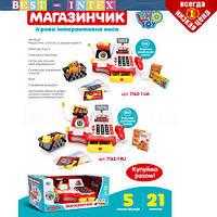 Игрушка магазин Кассовый аппарат 7162 Рус (3АА)