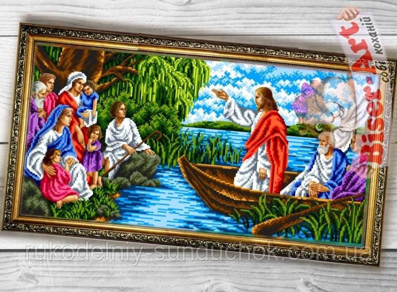 """Схема для вышивки бисером Бисер-Арт """"Исповедь Иисуса"""" (089)"""