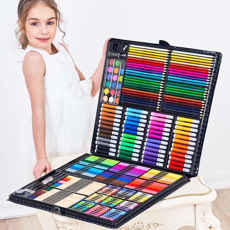 Художественный детский набор для рисования и творчества ColorfulItaly на 258 предметов