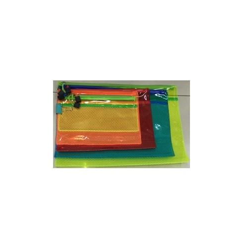 Папка-конверт на молнии плотная А4, ST01201