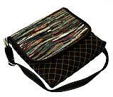 Женская джинсовая сумочка Кометный дождь, фото 2