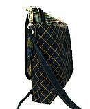 Женская джинсовая сумочка Кометный дождь, фото 3