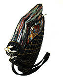 Женская джинсовая сумочка Кометный дождь, фото 4