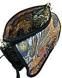 Женская джинсовая сумочка Кометный дождь, фото 5