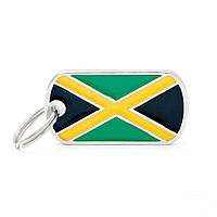 MyFamily медальон-адресник для собак Флаг Ямайка