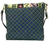 Женская джинсовая сумочка Тетрис, фото 3