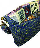 Женская джинсовая сумочка Тетрис, фото 4