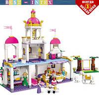Детский конструктор BRICK 2610 Замок принцессы 587 деталей, фото 1