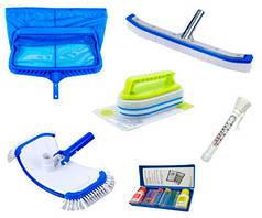 Уборочный комплект для чистки бассейна из 6-ти предметов