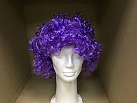 Парик клоуна фиолетовый, фото 1