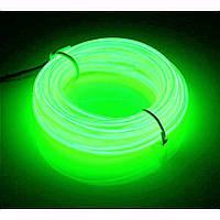 Гибкий светодиодный неон LTL Зеленый Neon Glow Light Green 3 метра