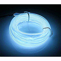 Гибкий светодиодный неон LTL Белый Neon Glow Light White 3 метра