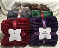 Покрывало-плед бамбуковый Шарпей меховый размер 160х210см, цвета разные, в сумке, фото 1