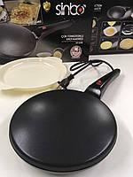 Блинница Sinbo SP 5208 Crepe Maker Pro Black, фото 1