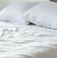 Двуспальный комплект БЕЛОГО постельного белья, бязь Голд Люкс, 180х220 см