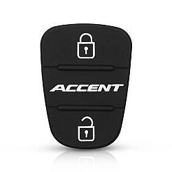 Кнопки (резинки) для ключа для Hyundai i10,i20,i40,Accent,Elantra,Sonata, Tucson,Santa Fe,Genesis,Getz,IX35