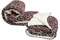 Одеяло шерстяное двуспальное Евро Королева Снов, наполнитель овечья шерсть