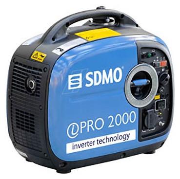 Однофазный инверторный бензиновый генератор SDMO Inverter Pro 2000 (2 кВт)