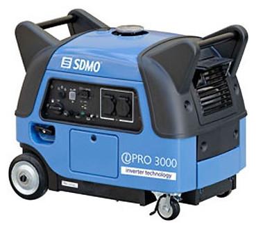 Однофазний інверторний бензиновий генератор SDMO Inverter Pro 3000 E (3 кВТ)
