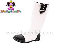 Демисезонные сапожки детские для девочки торговой марки Шалунишка