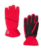 Горнолыжные перчатки подростковые для девочек Spyder girls astrid - ski glove, S/M/L/XL (MD)