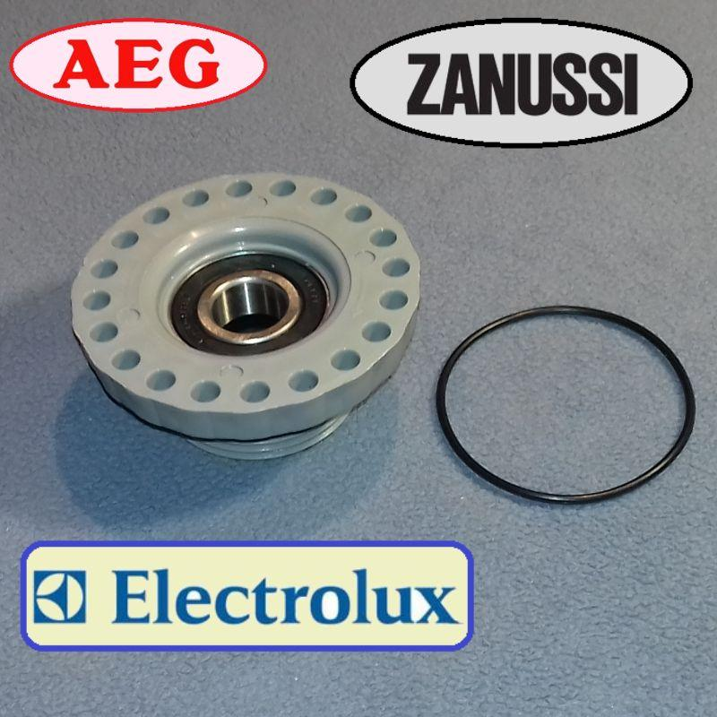 Суппорт под подшипник 6204 с левой резьбой для Zanussi, Electrolux, Privileg и AEG