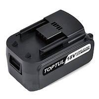 Аккумулятор для ударного электрогайковерта 18V, Toptul KALD0302E