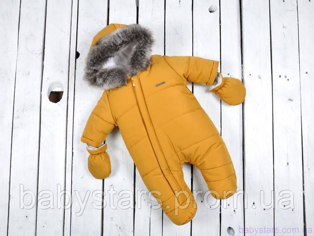 детский теплый комбинезон