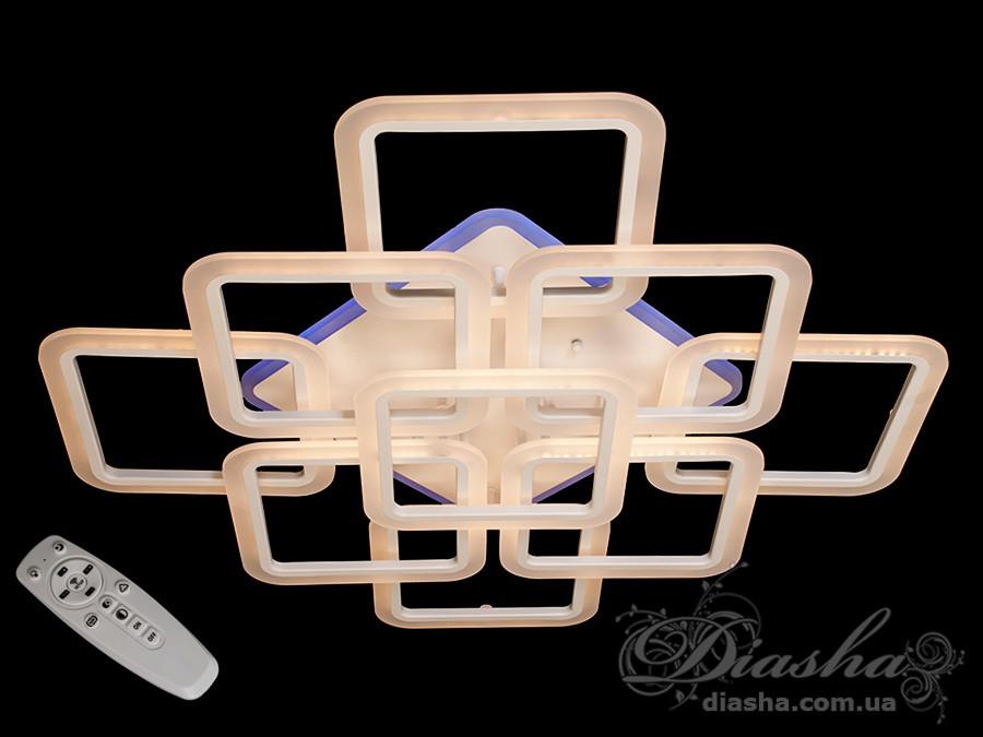 ЛЮСТРЫ ПОТОЛОЧНЫЕ СВЕТОДИОДНЫЕ&MX2505/9L GR LED 3color dimmer