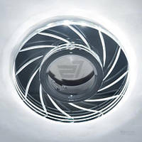 Светильник точечный Blitz с LED-подсветкой MR16 35 Вт GU5.3 6000 К хром BL 227S3 CH+WH T30875322