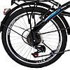 Велосипед SPARK VSP FUZE FTV со Складной Рамой и Багажником Чёрно-Синий, рама - Сталь, 20 дюйм, фото 8