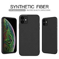 Карбоновый чехол для iPhone 11 Nillkin Synthetic Fiber