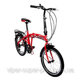 Велосипед SPARK VSP FUZE FTV Красный цвет, со Складной Рамой и Багажником, рама - Сталь, 20 дюйм