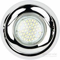 Светильник точечный Feron G5.3 хром DL228 T30825309