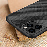 Карбоновый чехол для iPhone 11 Pro Nillkin Synthetic Fiber, фото 1