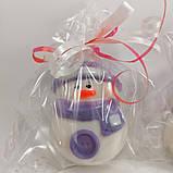 Снеговик Новогоднее мыло ручной работы, фото 3