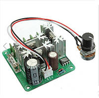 Контроллер регулятор скорости вращения двигателя постоянного тока 6V-90V 10A 16 кГц