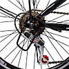 Велосипед с Багажником SPARK VSP SAIL TV24-13-18-002 Чёрно Синий! 24 дюймов колесо, 18 передач, Рама - Сталь, фото 8