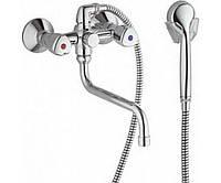 Смеситель для ванны KLUDI STANDARD 251130515,кран в ванную с длиным гусаком,немецкий