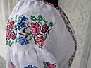 Платье вышитое с широким рукавом, фото 4