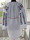 Платье вышитое с широким рукавом, фото 5