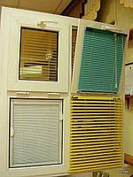 Горизонтальные жалюзи цветные оптом в Одессе и в Украине, жалюзи алюминиевые в накладку на створки окна