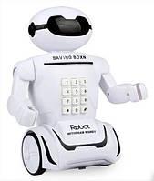 Робот копилка аккумуляторный Robot PIGGY BANK 6688-8 Kronos Toys копилкас кодовым замком и лампой (par_6688-8)