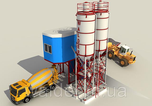 Бетоносмесительные установки (БСУ), фото 1